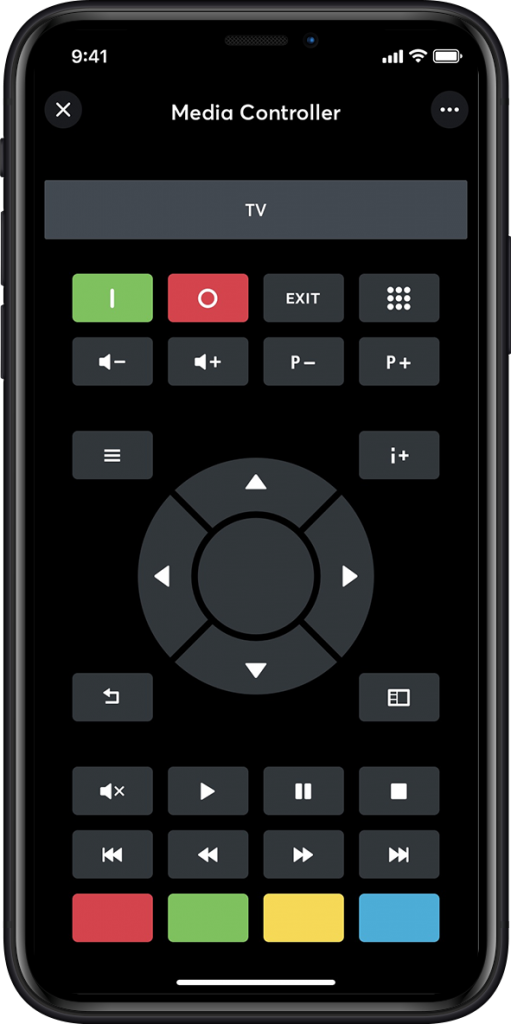 Loxone App being used as a Multimedia Controller